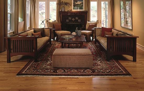 客厅地板装饰